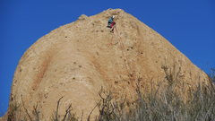 "Rock Climbing Photo: Summiting on ""Cracker Jacks."""