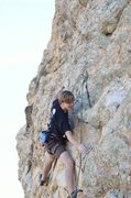 Rock Climbing Photo: Be sure to bring plenty of draws for this thing or...