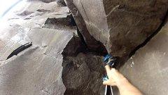 Rock Climbing Photo: Dragon Cam in action.