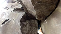 Rock Climbing Photo: Dragon Cam Blue