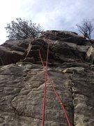 Rock Climbing Photo: Place your bet, 5.8.