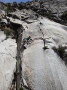 Rock Climbing Photo: Konstantine Stolev climbing.