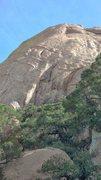 Rock Climbing Photo: Approaching the climb.