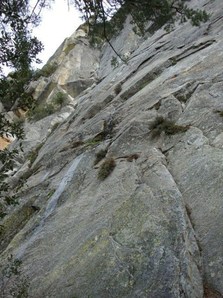 Rock Climbing Photo: Foolproof plan.