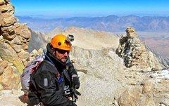 Rock Climbing Photo: Anthony Vito Fiore - Mount Whitney - Summit Bound.