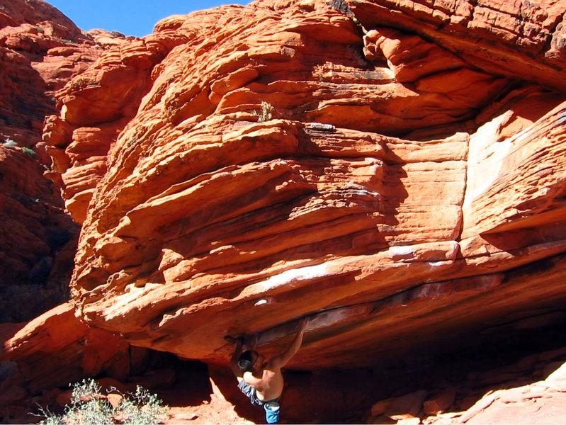 Rock Climbing Photo: Dirty Rail
