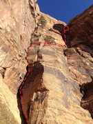 Rock Climbing Photo: Pitches 1-2