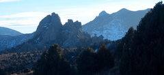 Rock Climbing Photo: Castle Rock on January 2nd, 2014
