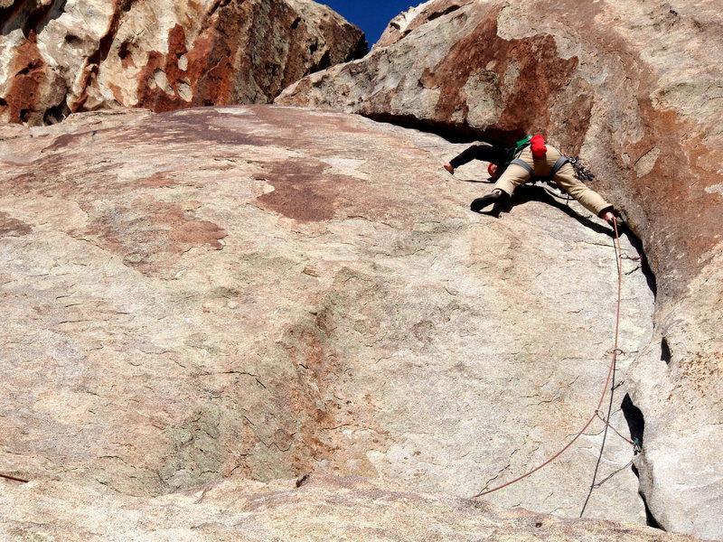 Rock Climbing Photo: The pitch.