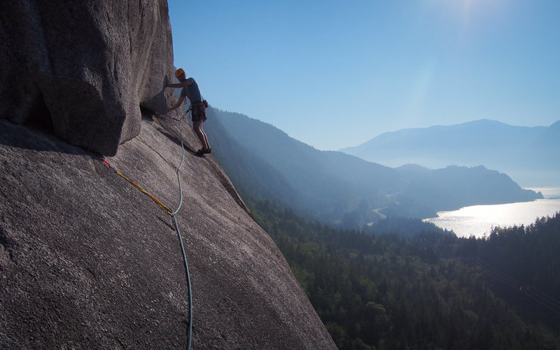 Rock Climbing Photo: May the force be with you, always.