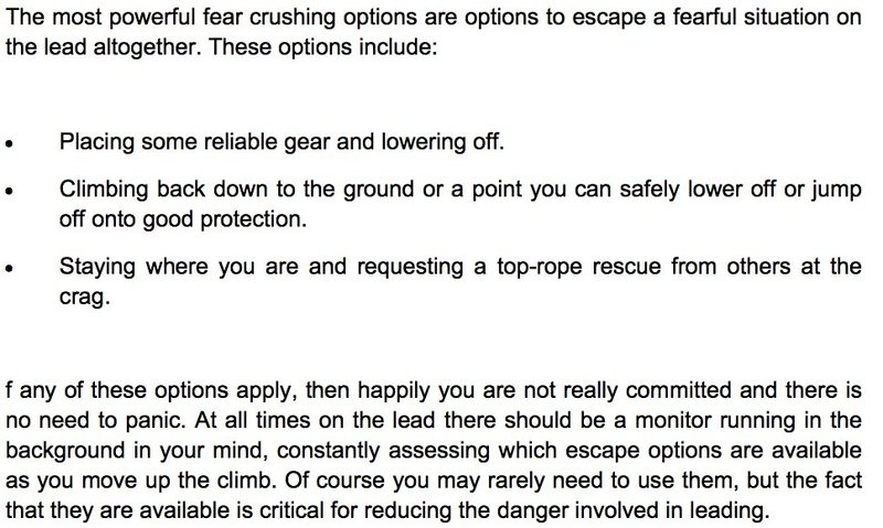 Rock Climbing Photo: how to climb hard trad, dave macleod