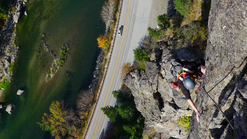 Castle Rock, Leavenworth