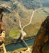 Rock Climbing Photo: Alien landing site at Smith Rock