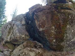 Rock Climbing Photo: Black Pearl V6+
