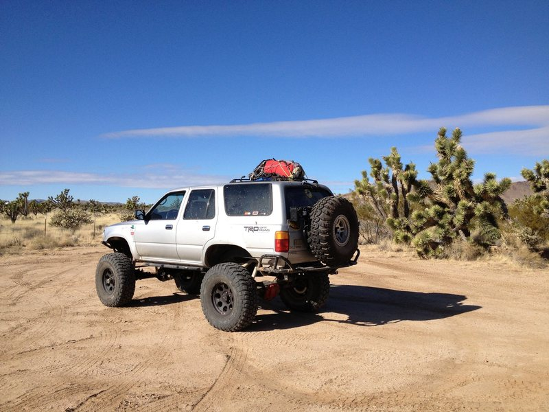 Rock Climbing Photo: 90 4runner