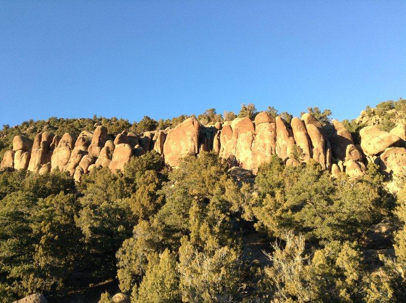 Pocket Rocks from a distance
