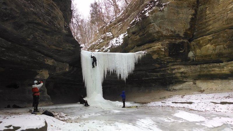 Rock Climbing Photo: LaSalle