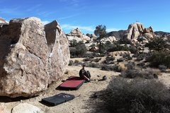 Rock Climbing Photo: The Outback from Voices Boulder.