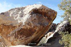 Rock Climbing Photo: Tilt-o-Meter Left Topo