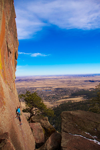 Rock Climbing Photo: The obligatory photo.