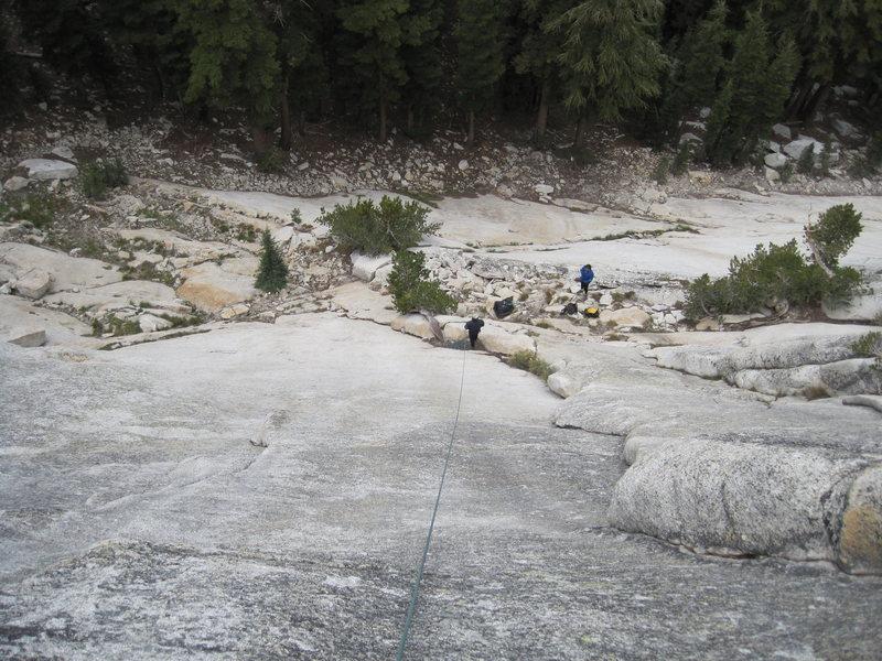 Rock Climbing Photo: The corner