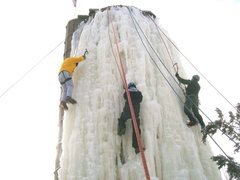 Rock Climbing Photo: Silo ice-
