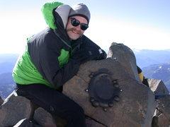 Rock Climbing Photo: Geocaching at Camp Muir