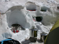 My kitchen at Camp Muir