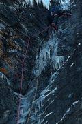 Rock Climbing Photo: Eric Wright.  Photo: Rob Jungheimer.