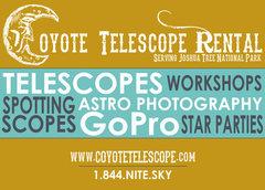 Telescope Rental Card