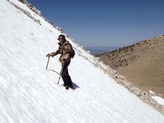 Rock Climbing Photo: Boundary peak Nv