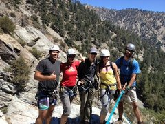 Rock Climbing Photo: Mt baldy canyoneering route
