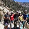 Mt baldy canyoneering route