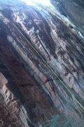 Rock Climbing Photo: BP Cuff 5.11b badass route