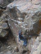 Rock Climbing Photo: Alternative start to Rock On.
