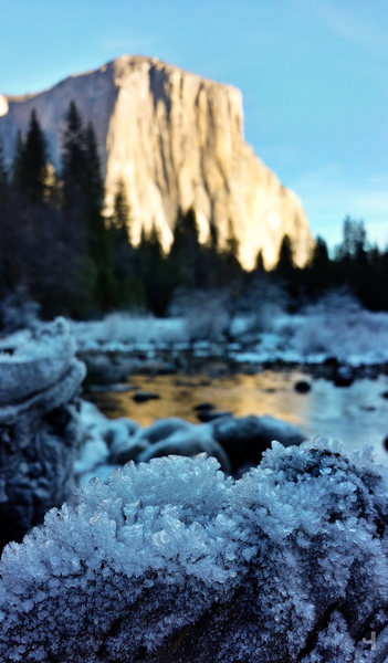 El Cap in winter