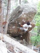 Rock Climbing Photo: Smitten on the Mitten, Bastille area.