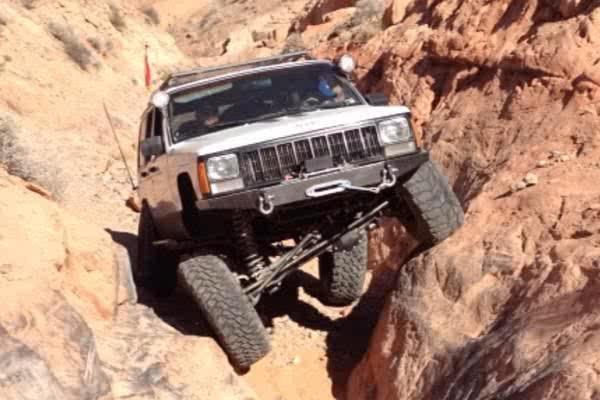 Rock Climbing Photo: Jeep