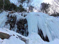 Rock Climbing Photo: Hillyer Ravine, Catskills, NY