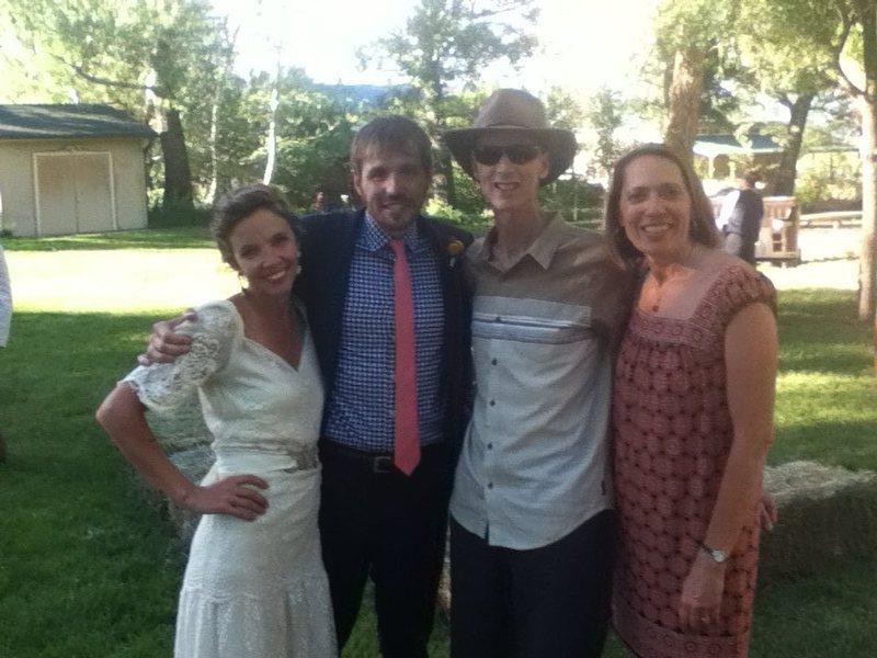 Jen, Nick, Randy & Belen at their wedding 6-1-2-13