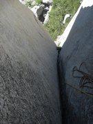 Rock Climbing Photo: Pitch 2, hard 5.9. credit:Salamanizer