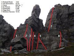 Rock Climbing Photo: Muckish Mountain, Donegal