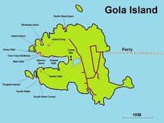 Rock Climbing Photo: Gola Island Rock Climbing Map