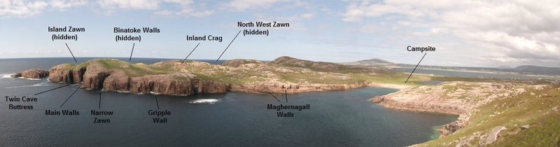 Gola Island Map