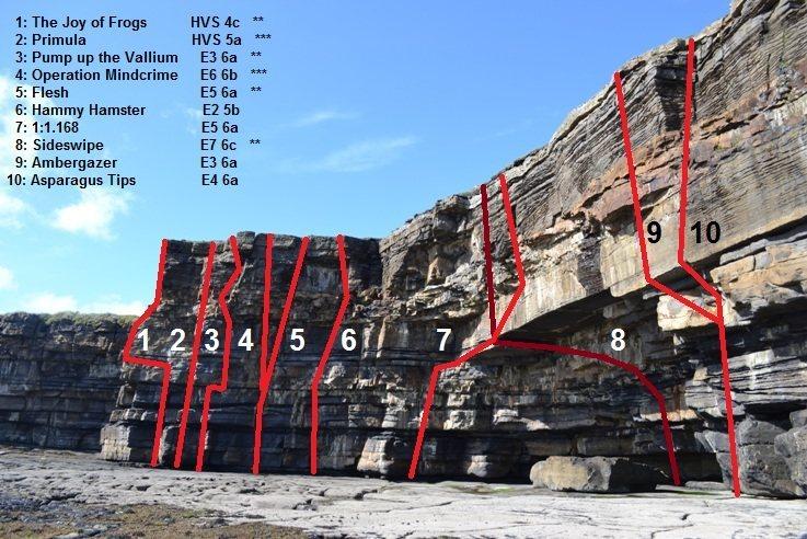 Rock Climbing Photo: Muckross Head