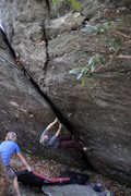 Rock Climbing Photo: grayson highlands