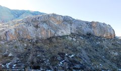 Rock Climbing Photo: Gorilla Cliffs (from The Snakepit).