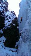 Rock Climbing Photo: Upper bridge, unknown dude.