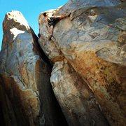 Rock Climbing Photo: Karmic Relief 5.10a