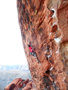 Rock Climbing Photo: Nothing Shocking
